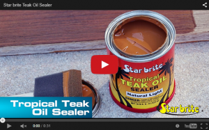 Teak Sealer - Natural Light