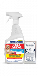 Kills Parvo – Performacide® Disinfectant & Deodorizer