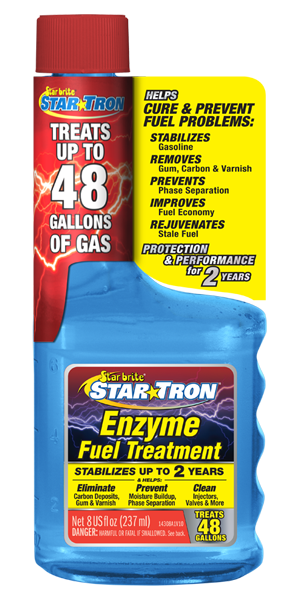 Star Tron Enzyme Fuel Treatment - Classic Gas Formula