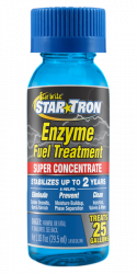 Star Tron Enzyme Fuel Treatment - Super Concentrated Formula 1 oz