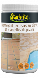 Patio in stone and Swimming Pool Surround Cleaner 900g