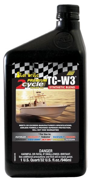 Premium 2-Cycle Engine Oil TC-W3