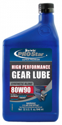 Synthetic Blend Lower Unit Gear Lube 80w 90w