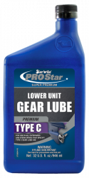 Premium Type C Lower Unit Gear Lube