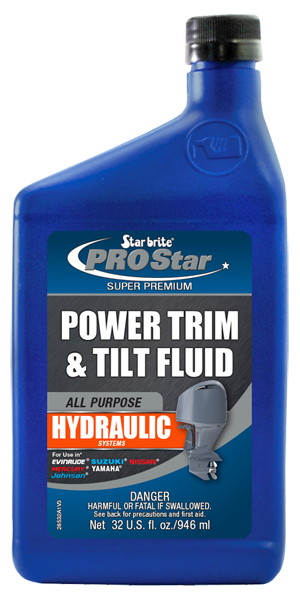 Power Trim And Tilt Fluid