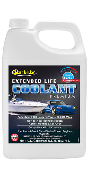 300,000 Mile Antifreeze Coolant - 50/50 Ready-To-Use