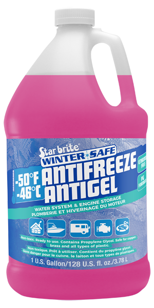 Winter Safe -50 RV Anti-Freeze - Non-Toxic PG
