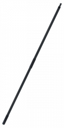 Signature Series Black Extending Handle 5'-10'