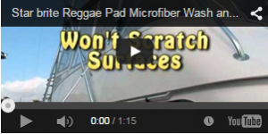 Microfiber Reggae Wet/Dry Pad