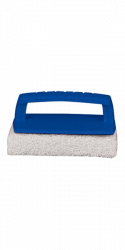 Scrub Pad With Handle (Fine) (White)
