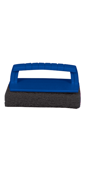 Scrub Pad With Handle (Coarse) (Black)