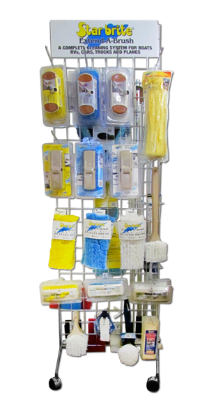Extend-A-Brush Mini Tower Display