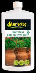 Terra Cotta Plant Pot Protector 1L