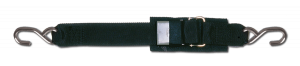 """2"""" TRANSOM TIE DOWN WITH STAINLESS STEEL QUICK RELEASE BUCKLE"""