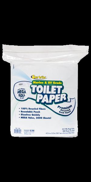 Toilet Tissue Marine/Rv 2ply (500/S) 4pk