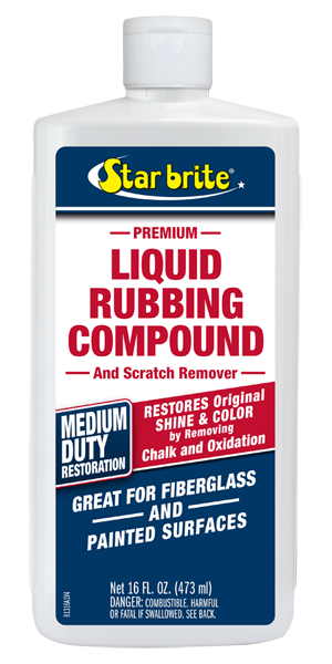 Liquid Rubbing Compound For Medium Oxidation
