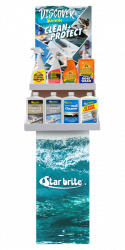 Marine Chemical/Polish Display - 2 Tier