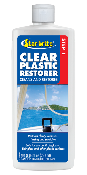 Clear Plastic Restorer - Step 1