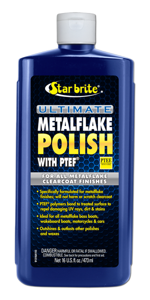 Ultimate Metalflake Polish with PTEF