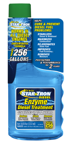 Star Tron Enzyme Fuel Treatment - Super Concentrated Diesel Formula