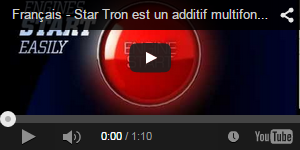 Star Tron Countertop Display