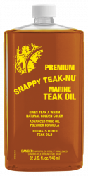 Snappy Premium Golden Teak Oil