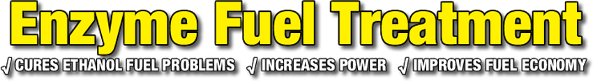 Enzyme Fuel Treatment Banner