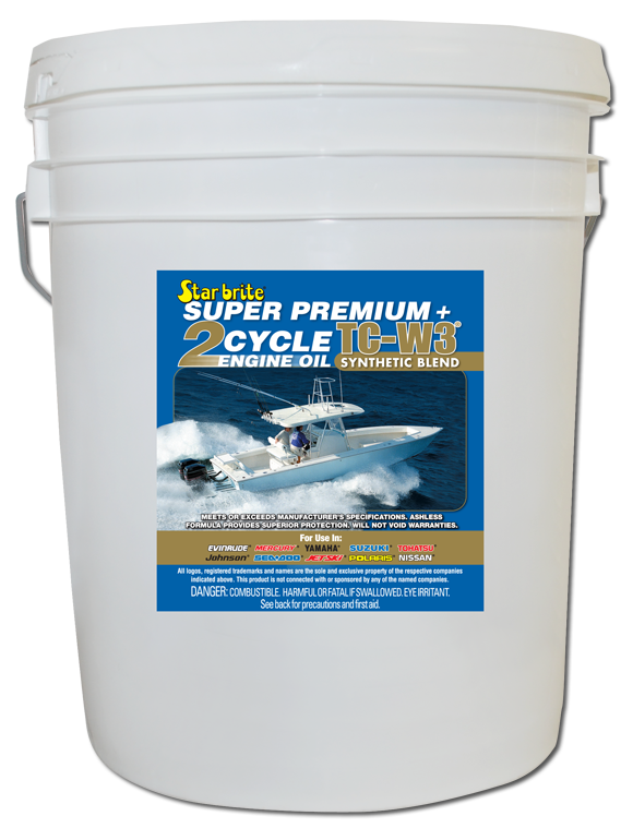 Super Premium 2-Cycle Engine Oil TC-W3