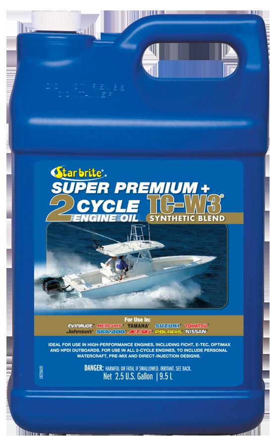 Super Premium 2-Cycle Engine Oil TC-W3