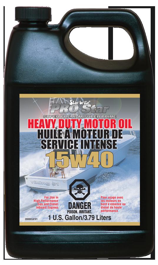 Pro Star Super Premium Heavy Duty Motor Oil Sae 15w 40