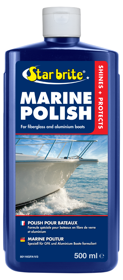 Star Brite Marine Polish for Fiberglass Metal /& Painted Surface 80116